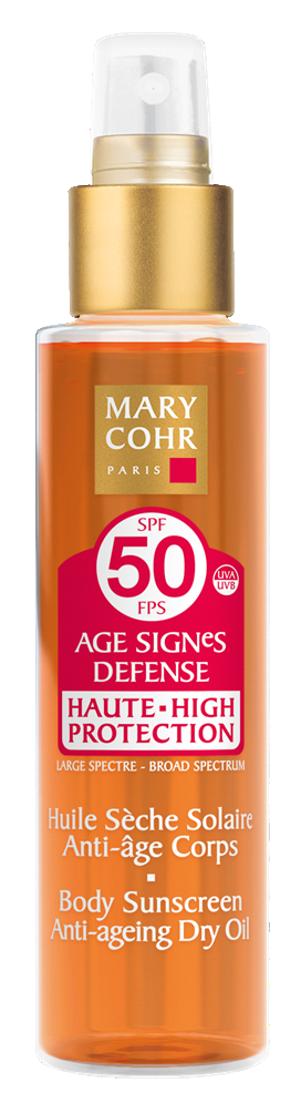 "Солнцезащитное ""сухое"" Масло для тела SPF 50 - Huile Seche Solaire Anti-age Corps  SPF 50"